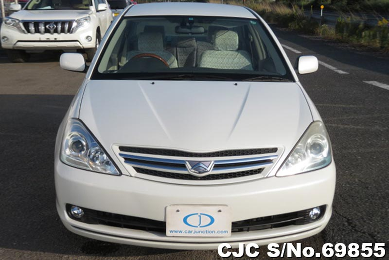 Toyota Allion in White for Sale Image 5