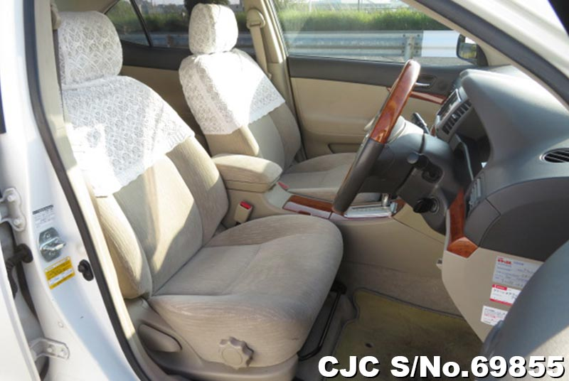 Toyota Allion in White for Sale Image 7