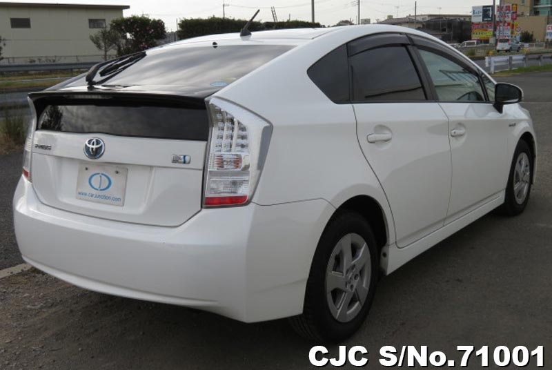 Toyota Prius Hybrid in White for Sale Image 1