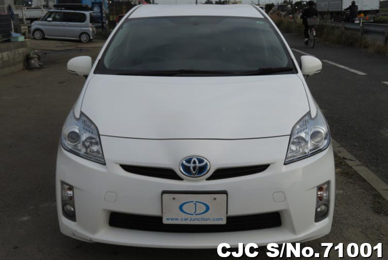 Toyota Prius Hybrid in White for Sale Image 4