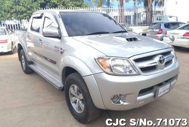 Toyota Hilux in Silver for Sale