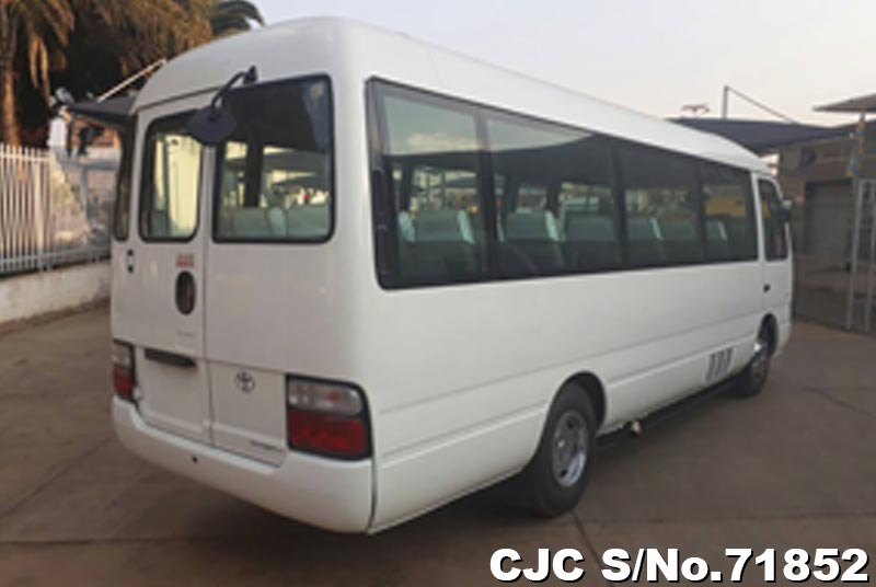 Toyota Coaster in White for Sale Image 2