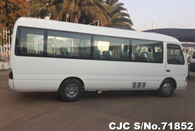 Toyota Coaster in White for Sale Image 6
