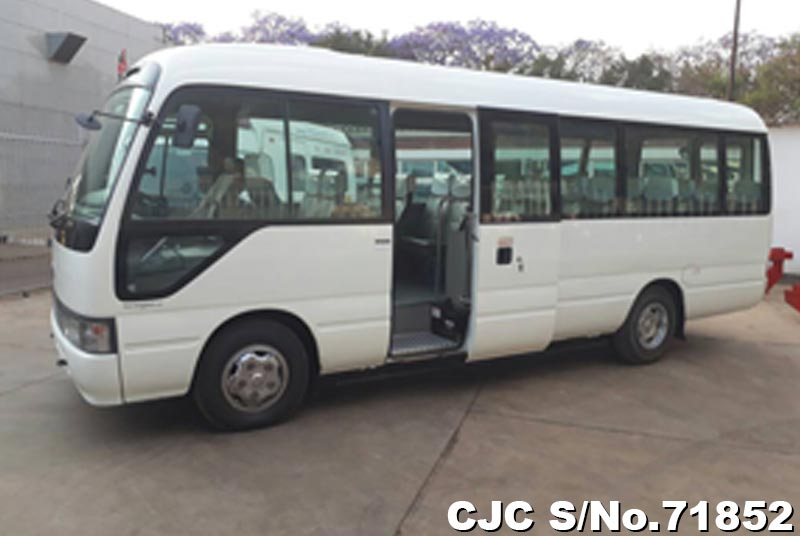 Toyota Coaster in White for Sale Image 7