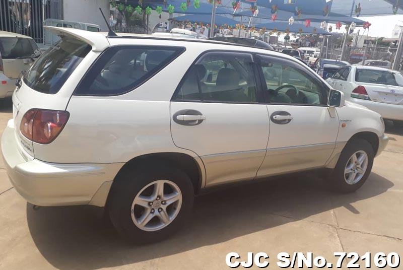 Toyota Harrier in White 2 Tone for Sale Image 2