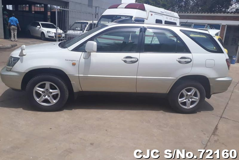 Toyota Harrier in White 2 Tone for Sale Image 5