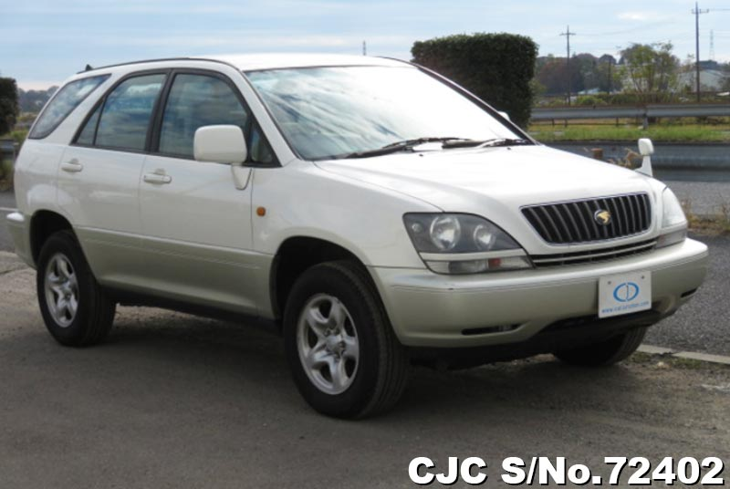 Toyota Harrier in Pearl 2 Tone for Sale