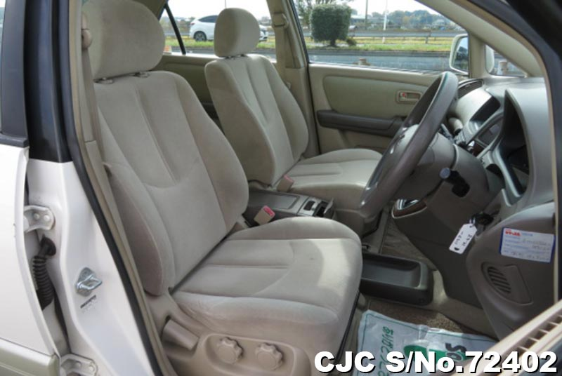 Toyota Harrier in Pearl 2 Tone for Sale Image 11