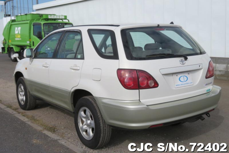 Toyota Harrier in Pearl 2 Tone for Sale Image 1