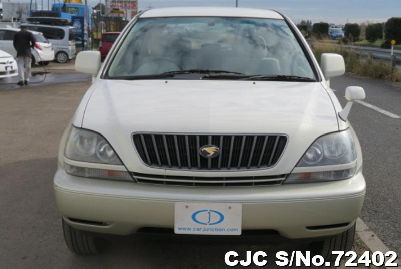 Toyota Harrier in Pearl 2 Tone for Sale Image 4