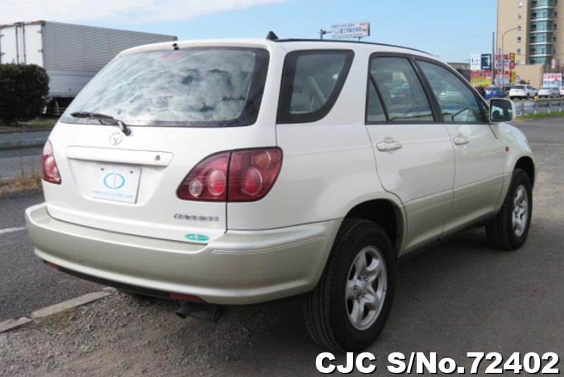 Toyota Harrier in Pearl 2 Tone for Sale Image 2