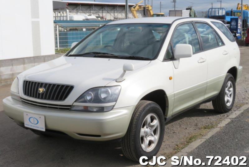 Toyota Harrier in Pearl 2 Tone for Sale Image 3