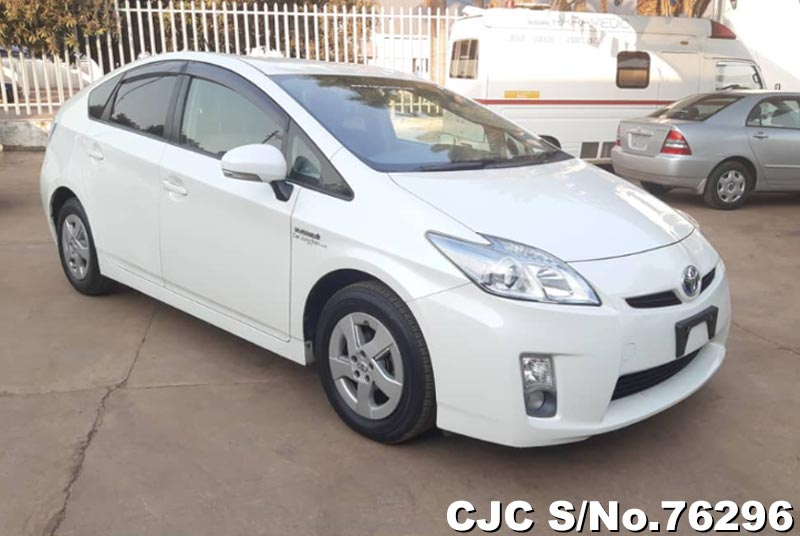Toyota Prius Hybrid in White for Sale