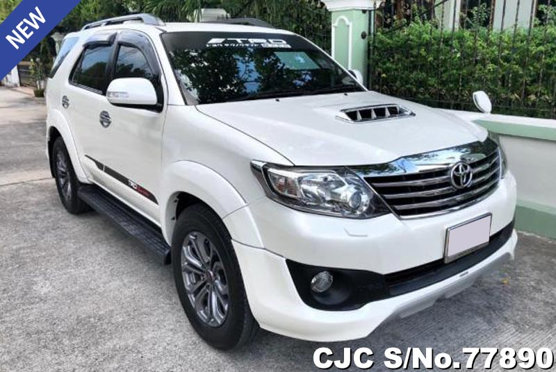 Toyota Fortuner in White for Sale
