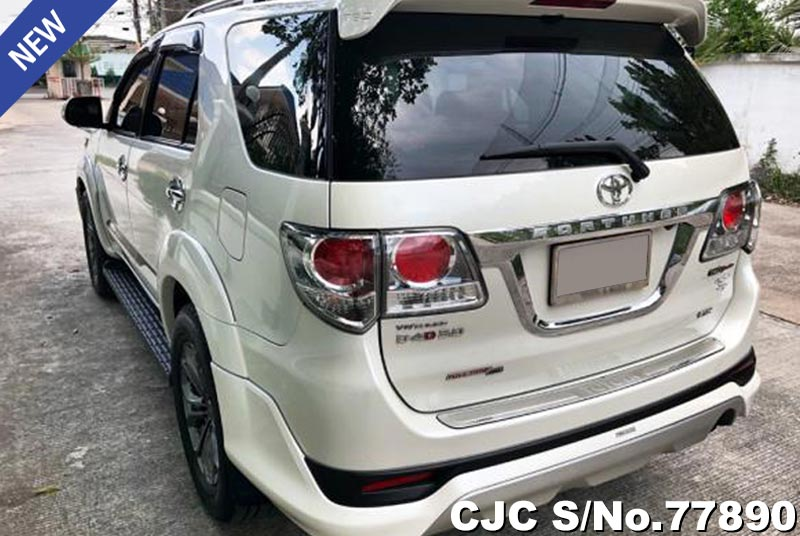 Toyota Fortuner in White for Sale Image 1