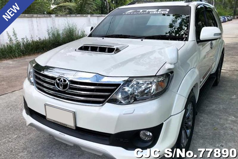 Toyota Fortuner in White for Sale Image 3