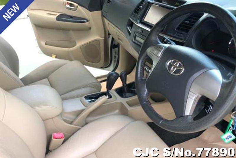 Toyota Fortuner in White for Sale Image 4