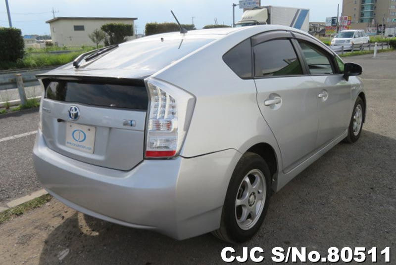 Toyota Prius Hybrid in Silver for Sale Image 2