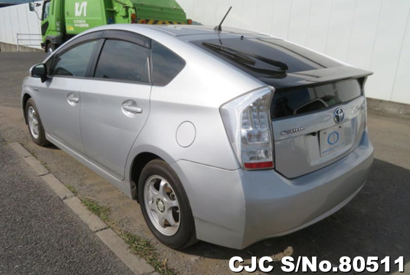 Toyota Prius Hybrid in Silver for Sale Image 1