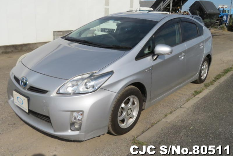 Toyota Prius Hybrid in Silver for Sale Image 3
