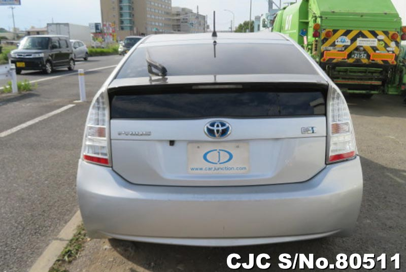 Toyota Prius Hybrid in Silver for Sale Image 4