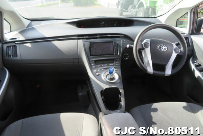 Toyota Prius Hybrid in Silver for Sale Image 9
