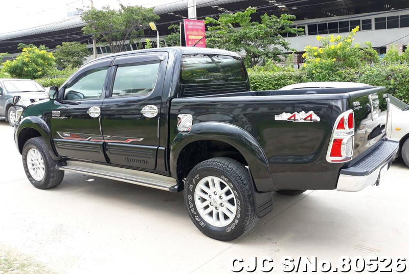 Toyota Hilux in Black for Sale Image 1