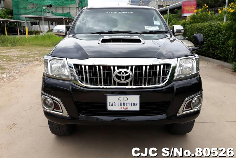 Toyota Hilux in Black for Sale Image 3