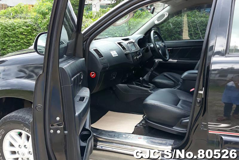 Toyota Hilux in Black for Sale Image 7