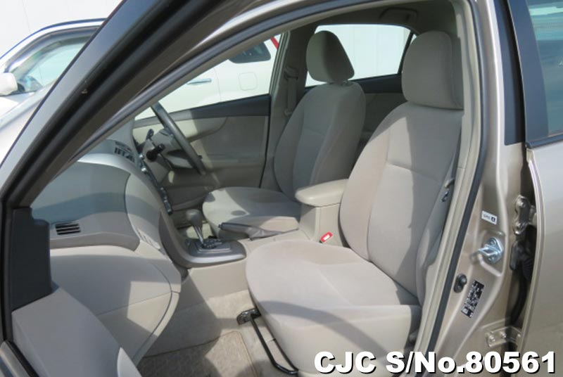 Toyota Corolla Axio in Beige for Sale Image 9
