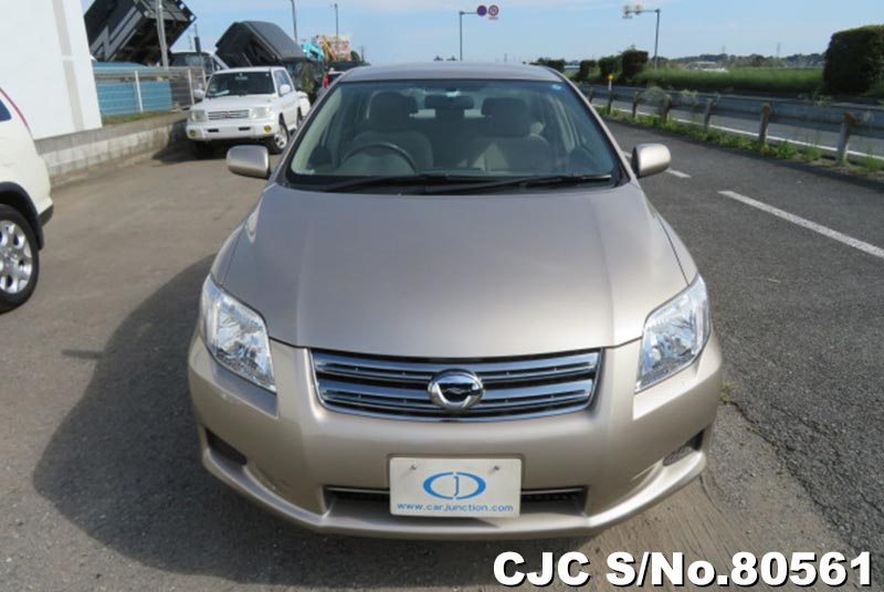 Toyota Corolla Axio in Beige for Sale Image 3