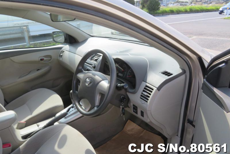 Toyota Corolla Axio in Beige for Sale Image 5
