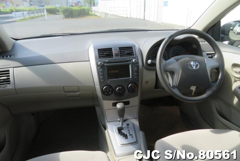 Toyota Corolla Axio in Beige for Sale Image 7