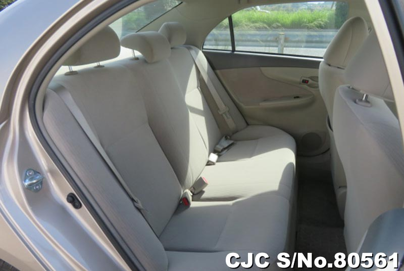 Toyota Corolla Axio in Beige for Sale Image 8