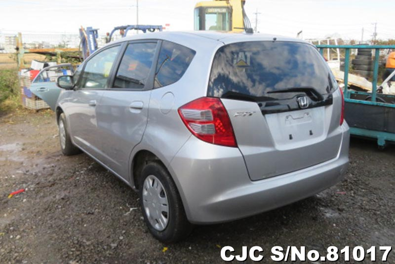 Honda Fit in Silver for Sale Image 1