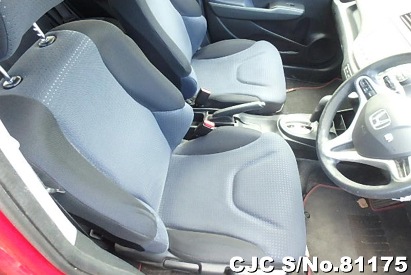 Honda Fit in Red for Sale Image 9