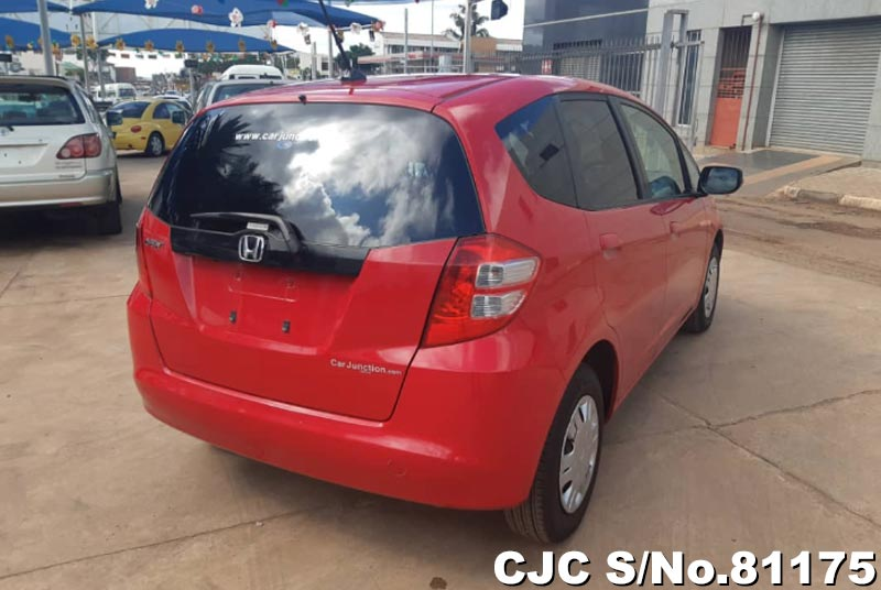 Honda Fit in Red for Sale Image 1