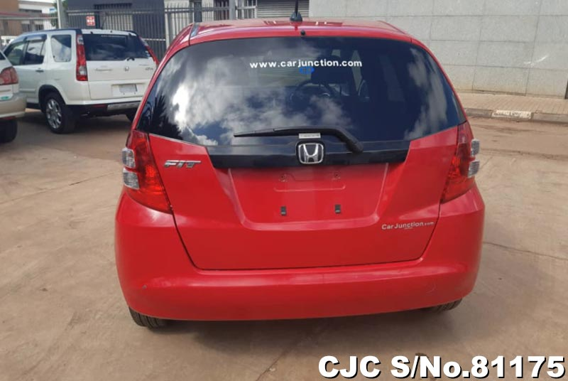 Honda Fit in Red for Sale Image 4