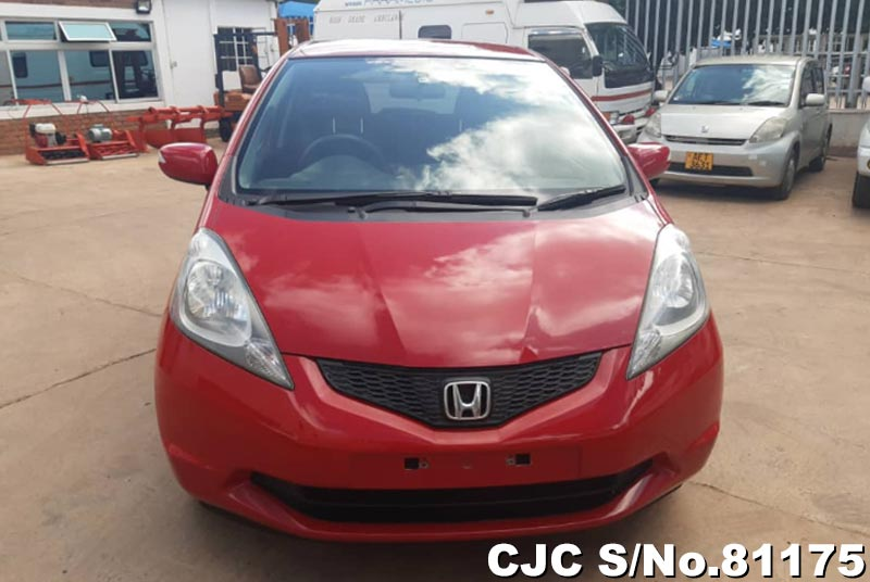 Honda Fit in Red for Sale Image 5