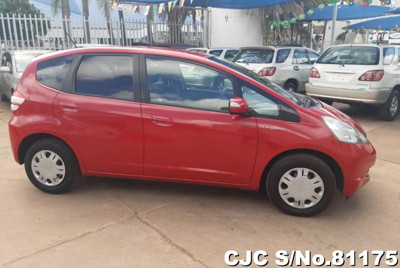 Honda Fit in Red for Sale Image 6