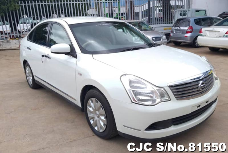 Nissan Bluebird Sylphy in White for Sale