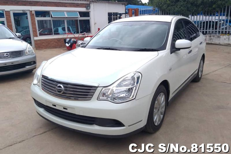 Nissan Bluebird Sylphy in White for Sale Image 3