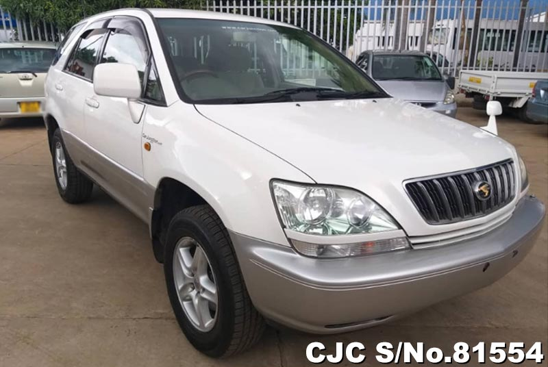 Toyota Harrier in Pearl White for Sale