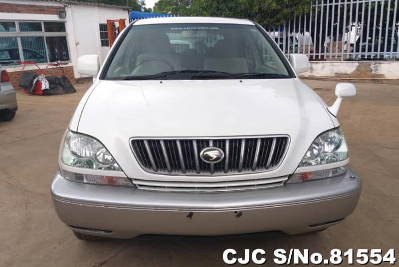 Toyota Harrier in Pearl White for Sale Image 4