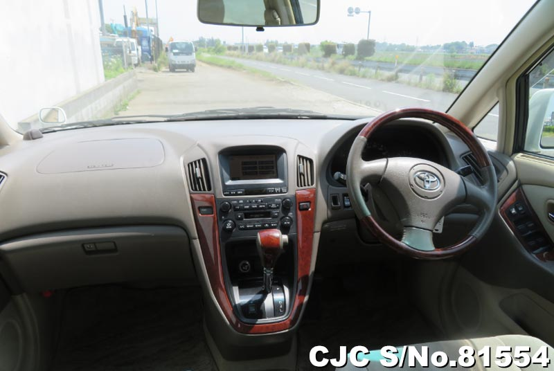 Toyota Harrier in Pearl White for Sale Image 10