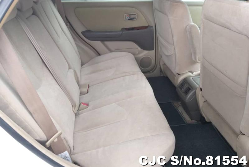 Toyota Harrier in Pearl White for Sale Image 12