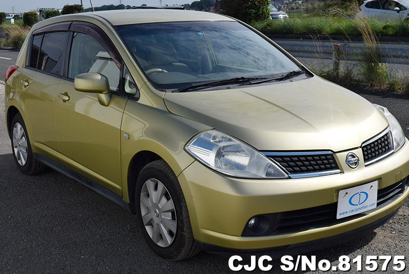 Nissan Tiida in Yellow for Sale