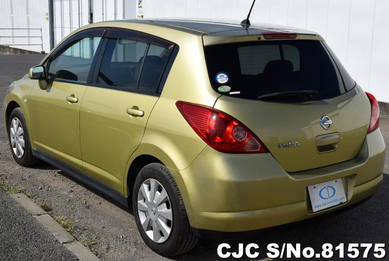 Nissan Tiida in Yellow for Sale Image 1