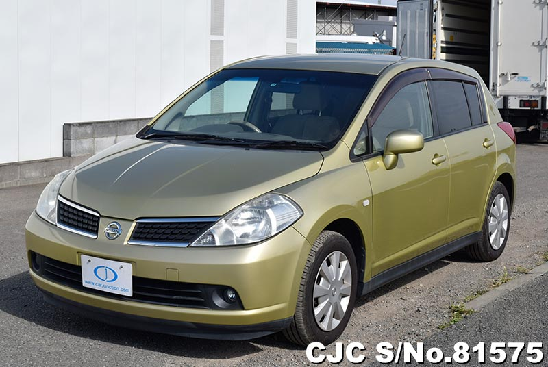 Nissan Tiida in Yellow for Sale Image 3