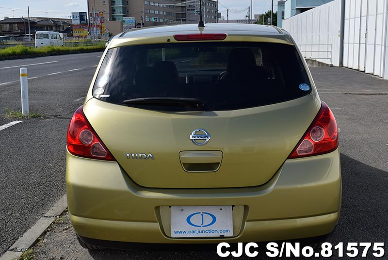 Nissan Tiida in Yellow for Sale Image 5